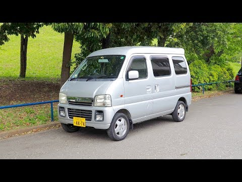 2003 Suzuki Every Kei Van (Canada Import) Japan Auction Purchase Review