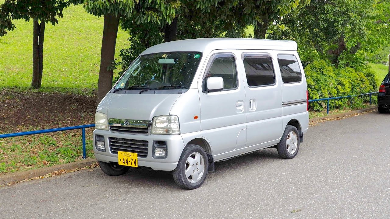 a2e7189cde 2003 Suzuki Every Kei Van (Canada Import) Japan Auction Purchase Review