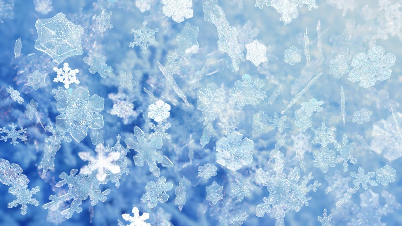 Animated Falling Snow Wallpaper Hd Stock Footage Snowflakes 100 Youtube