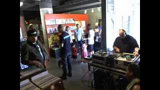 DJ RHETTMATIC ( BEAT JUNKIES ) LIVE ON RECORD STORE DAY  : R