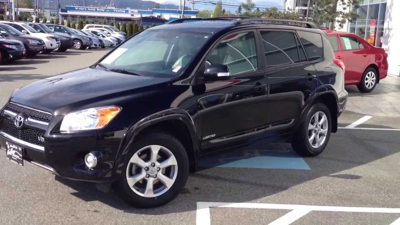Sold 2010 Black Toyota Rav4 Limited V6 13969a For Here At Valley Scion You