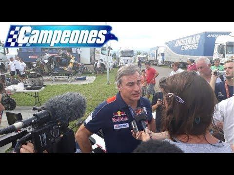 Dakar 2018 | Carlos Sainz y su defensa tras la penalización