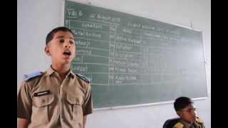 Sainik School Bijapur,Friday Class Asse-  Basavaraj, Anglo- Mysore War