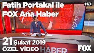 Arjantin nohudundan Çorum leblebisi... 21 Şubat 2019 Fatih Portakal ile FOX Ana Haber