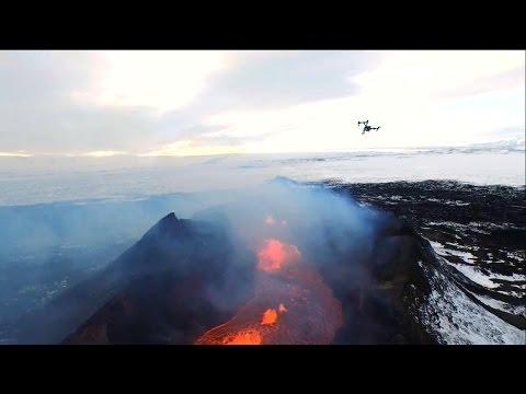 .無人機新用途!英國科學家用其研究活躍火山