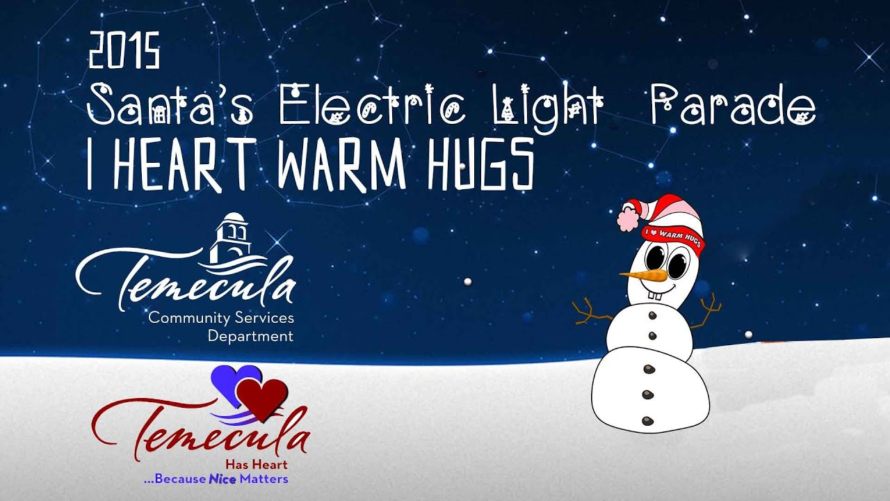 2015 Santa's Electric Light Parade - YouTube
