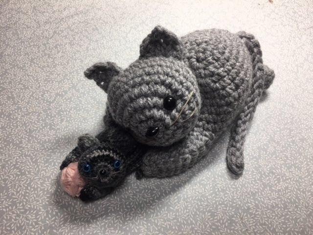 洗濯バサミの猫2/2(Clothespin cat)2/2