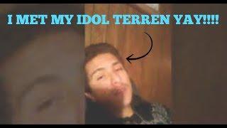 Confronting Terren The Happy Guy!!!