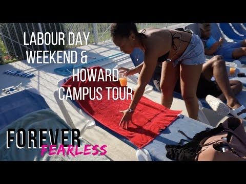 Labor Day Weekend + Howard Campus Tour
