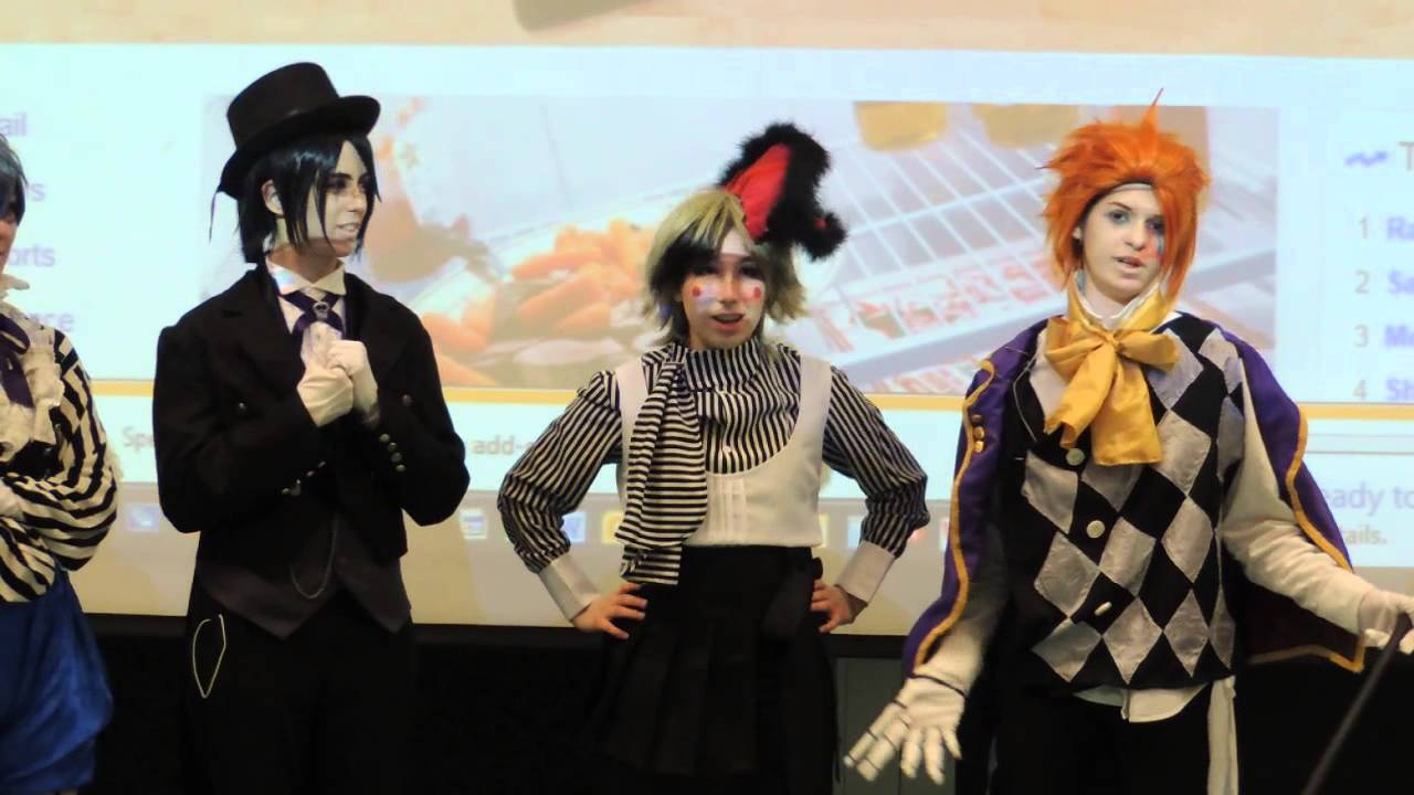 Monochrome Manor Presents Black ButlerBook Of Circus Panel Castle