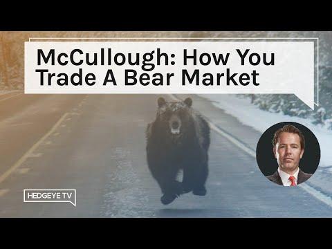 McCullough: How You Trade A Bear Market