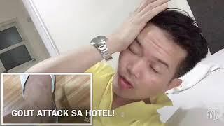 PASAY CITY: My Travel Story... ( GOUT ATTACK NA NAMAN SA LOOB NG HOTEL)  Ouch!!!