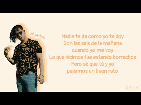 JD PANTOJA : Borrachos (Letra)