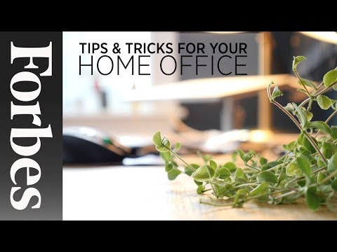 10 DIY Hacks To Improve Your Home Office | Forbes