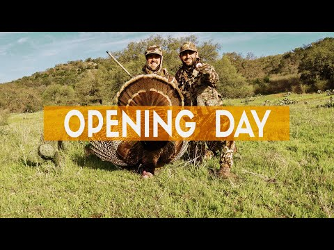 Turkey Hunting In The Texas Hill Country | Opening Day 2019