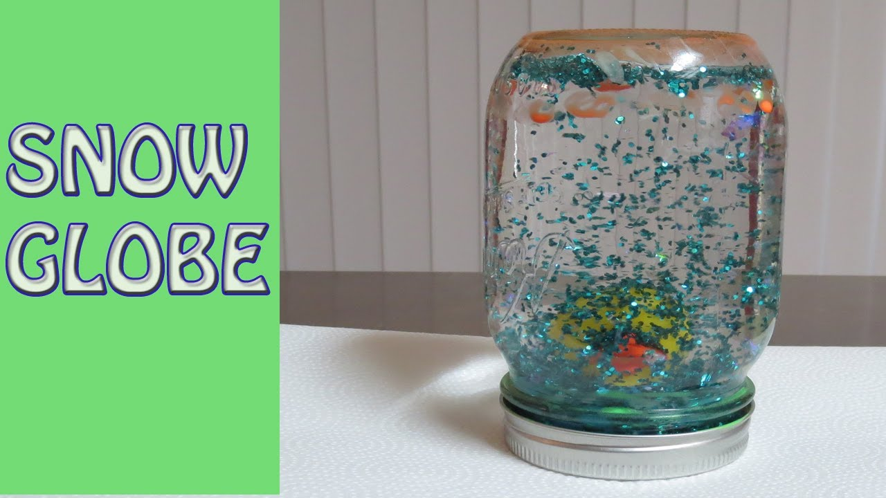 how to make a snow globe youtube