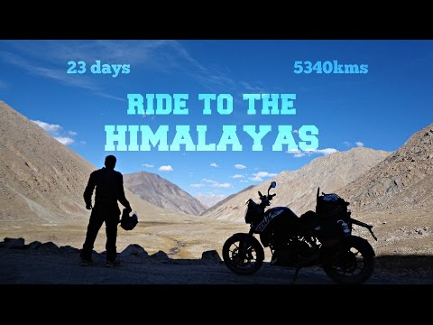 Ride to the Himalayas | Leh Ladakh to Bangalore | 23 days-5340kms
