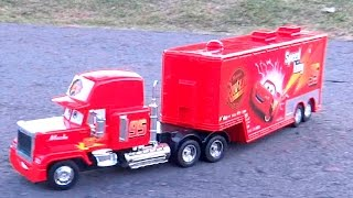 Camion Mack Truck Cars Control Remoto RC Rayo Mcqueen Tractomula Trailer Disney