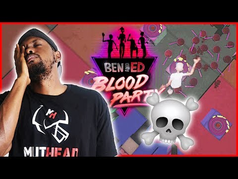 HOW MANY TIMES CAN WE DIE IN ONE LEVEL!?? - Ben & Ed Blood Party Gameplay Ep.8