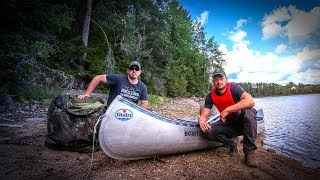 7 Tage Survival Bushcraft Kanu Tour in Schweden #04