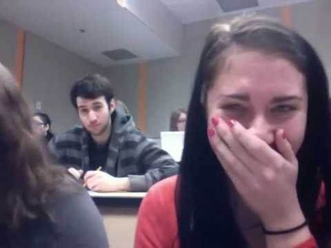 Hilarious Moment during class-THIS IS NOT FAKE!