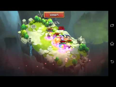 Castle Clash New Lost Realm Boss In Action