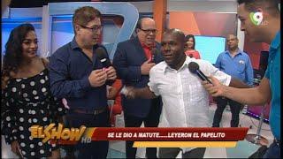 La Llegada de Matute en El Show del mediodía
