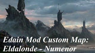 Edain Mod Eldalonde Custom Map: 2v1 Against Ruuddevil and Calsash!