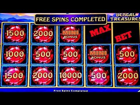 Lighting Link Bengal Treasures Slot Bonuses | 88 Fortunes Slot MAX BET BONUS | W4 BOOST Slot Machine