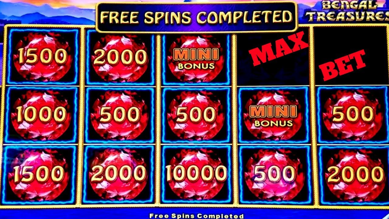 Lighting Link Bengal Treasures Slot Bonuses 88 Fortunes Max Bet Bonus W4 Boost Machine