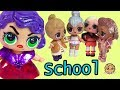 Jelly Gets Jealous at School  LOL Surprise Peanut Butter Bff Pretend Play Toy Video
