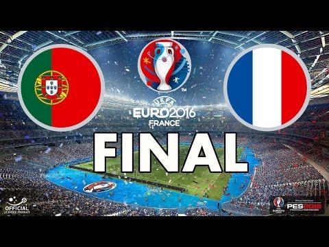 UEFA EURO 2016 FINAL - PES 2016 - Portugal vs France
