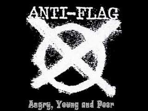 anti-flag flag fuck the
