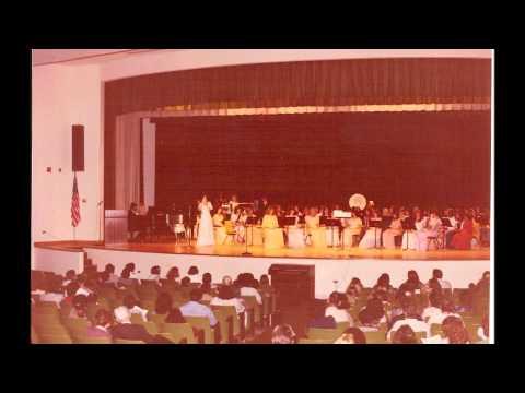 Lady - Tatum High School Spring Band Concert 1982