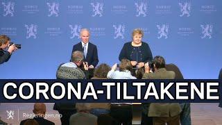 Regjeringen.no: Statsministeren Og Finansministeren Orienterer Om Tiltak Knytta Til Koronaviruset