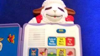 eBay Item - Lamb Chop & Friends Talking Stories Book