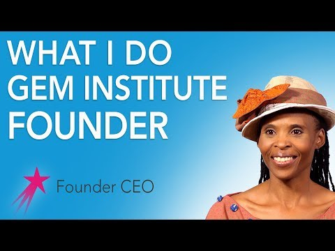 Founder CEO: What I Do - Mpho Letima Career Girls Role Model