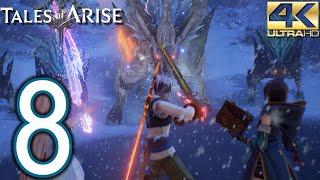Tales of Arise PC 4K Walkthrough - Part 8 - Cyslodia, The Owl Forest, Nevira Snowplains