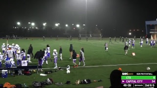 Semi-Pro Football - CTX Tornados vs. Capital City Bison - 3/2/2019