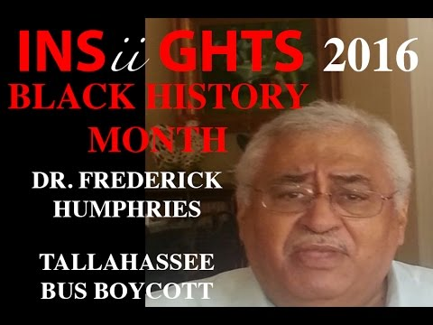 INSiiGHTS: Black History Fact: Dr Humphries Bus Boycott