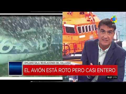 Emiliano Sala: Hallan un cuerpo en el avión