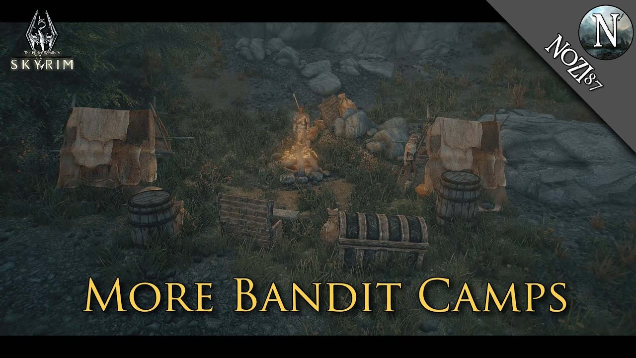 More Bandit Camps at Skyrim Special Edition Nexus - Mods and
