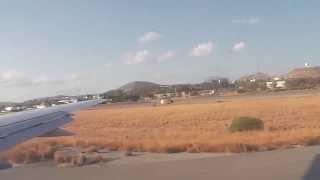 Взлет из аэропорта Nikos Kazantzakis г.Ираклион