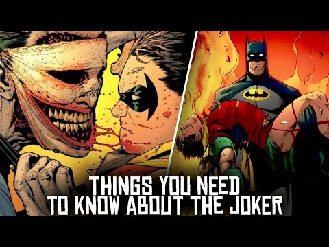 10 Things You NEED To KNOW About The Joker!