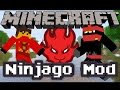Minecraft: Mcreator Mod Showcase | Lego Ninjago Mod!