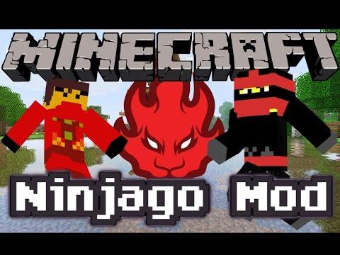 Minecraft LEGO NINJAGO MOD!   SENSEI WU, KAI, LLOYD, JAY ...