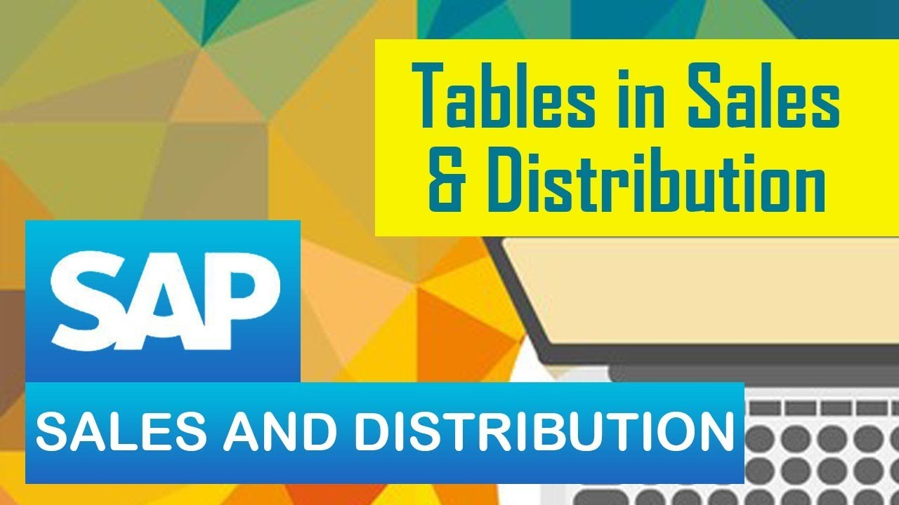 SAP SD | Tables in Sales and Distribution | All Tables