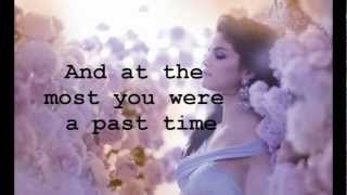 Selena Gomez - Sick Of You (Lyrics)