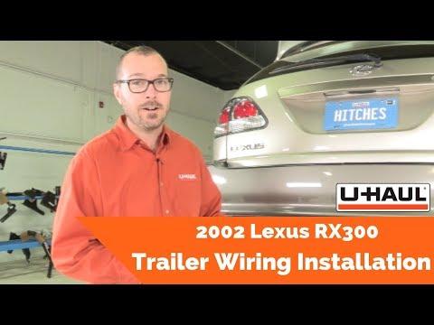 [DIAGRAM_34OR]  2002 Lexus RX300 Trailer Wiring Installation - YouTube | Lexus Trailer Wiring Harness |  | YouTube