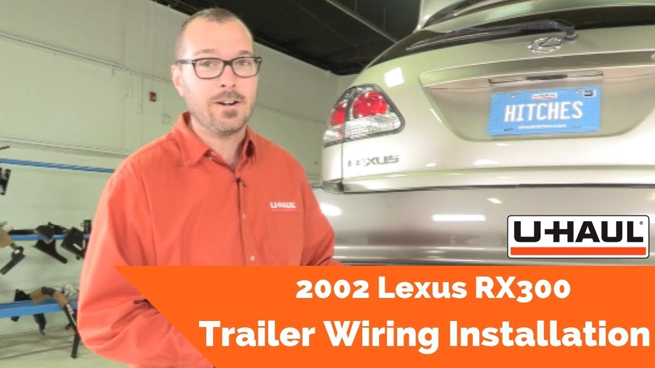 hight resolution of 2002 lexus rx300 trailer wiring installation youtube lexus rx300 trailer hitch wiring lexus rx300 trailer hitch wiring